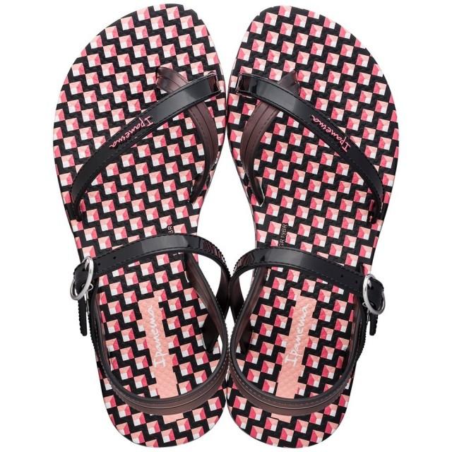 IPANEMA-FASHION-SANDAL-KIDS-Pink-Black
