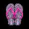 ipanema classic kids Black pink